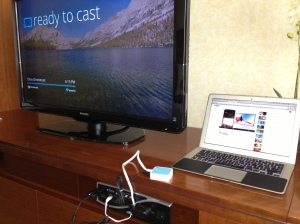 Chromecast in a hotel